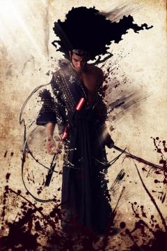 Poster Afro Samurai