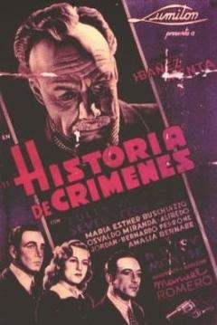Poster Historia de Crímenes