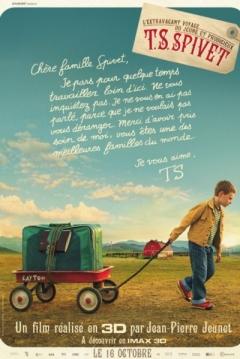 Poster El Extraordinario Viaje de T.S. Spivet