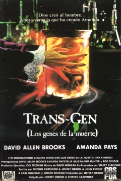 Poster Trans-Gen (Los Genes De La Muerte)