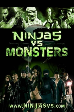 Poster Ninjas vs. Monsters