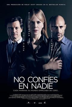 Poster No Confíes en Nadie