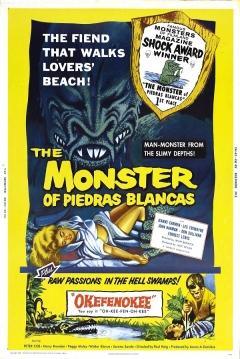 Poster El Monstruo de Piedras Blancas