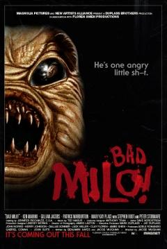 Poster Bicho Malo (Bad Milo!)