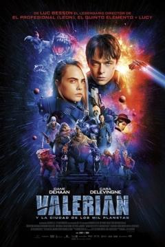 Poster Valerian y la Ciudad de los Mil Planetas