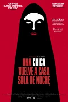 Poster Una Chica Vuelve a Casa Sola de Noche