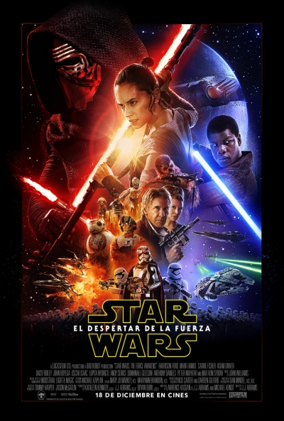 Poster Star Wars: Episodio 7 - El Despertar de la Fuerza