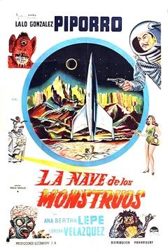 Poster La Nave de los Monstruos