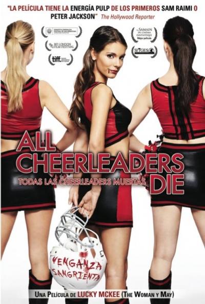 Poster Todas las Cheerleaders Muertas (All Cheerleaders Die)