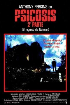 Poster Psicosis 2: El Regreso de Norman