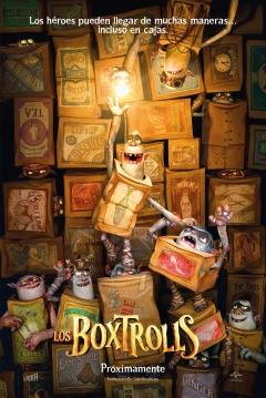 Poster Los Boxtrolls