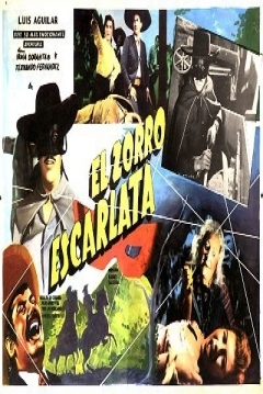 Poster El Zorro Escarlata