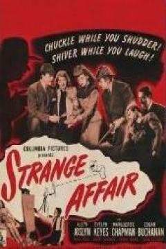 Poster Strange Affair