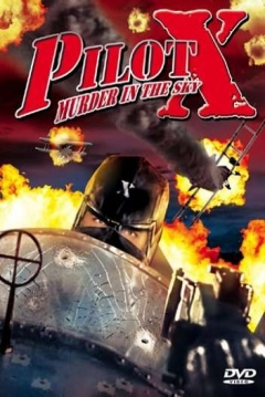 Poster Pilot X: Murder in the Sky (Death in the Air)