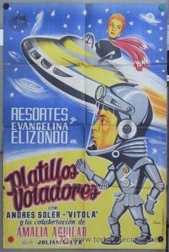 Poster Los Platillos Voladores