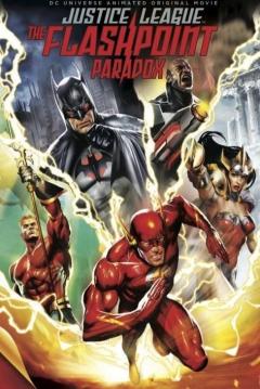 Poster La Liga de la Justicia: La Paradoja del Tiempo
