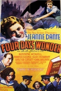 Poster Four Days' Wonder