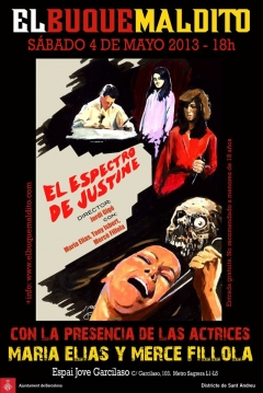 Poster El Espectro de Justine