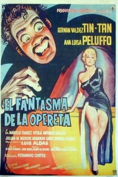 Poster El Fantasma de la Opereta