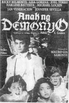 Poster Anak ng demonyo