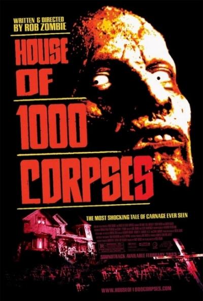 Poster La Casa de los 1000 Cadáveres