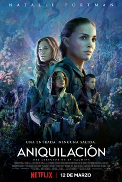 Poster Aniquilación