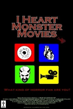 Poster I Heart Monster Movies