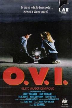 Poster O.V.I. Objeto Volador Identificado