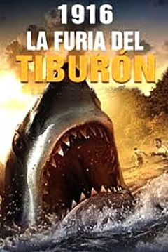 Poster 1916: La Furia del Tiburón