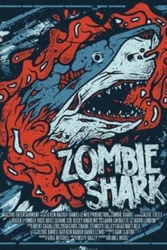 Poster Tiburón Zombie