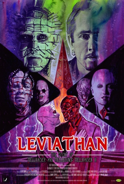 Poster Leviathan: The Story of Hellraiser and Hellbound: Hellraiser II
