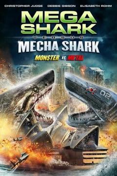 Poster Megatiburón contra Mecha Shark