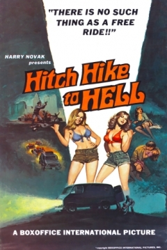 Poster Hitch Hike to Hell