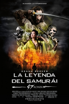 Poster La Leyenda del Samurái: 47 Ronin