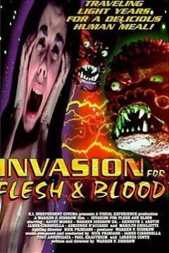 Poster Flesh Eaters from Outer Space