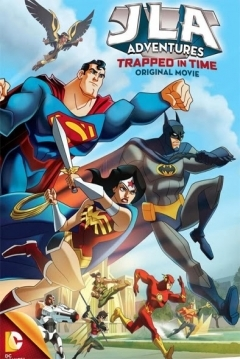 Poster Justice League Adventures: Trapped in Time