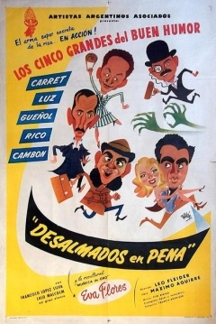 Poster Desalmados en Pena