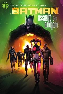 Poster Batman: Asalto en Arkham