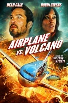 Poster Airplane Vs Volcano