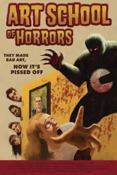 Poster Art School of Horrors