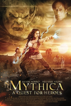 Poster Mythica: A Quest for Heroes