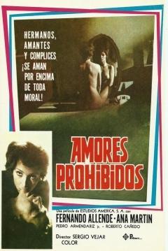Poster Amores Prohibidos