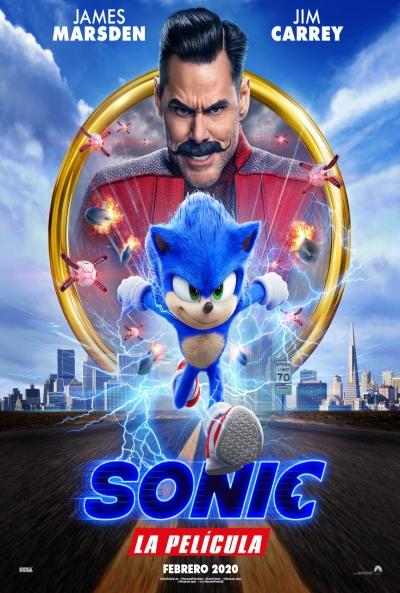 Poster Sonic: La Película
