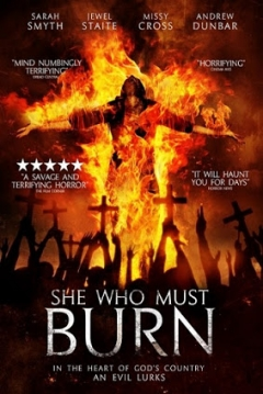 Poster She who Must Burn