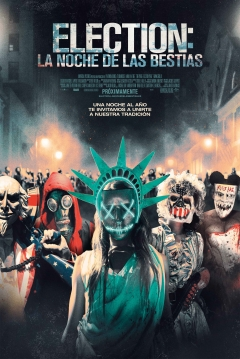 Poster The Purge 3: Election: La Noche de las Bestias