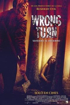 Poster Wrong Turn: Sendero al Infierno