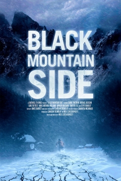Poster Black Mountain Side