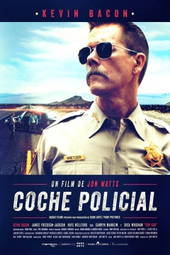 Poster Coche Policial