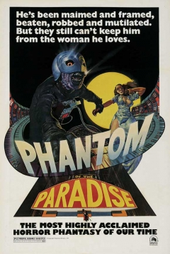 Poster El Fantasma del Paraíso