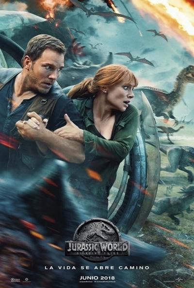 Película Parque Jurásico 5 Jurassic World El Reino Caído